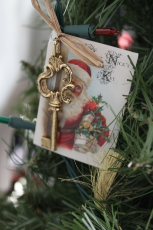 Christmas ornament from the Belair Mansion in Bowie, Maryland