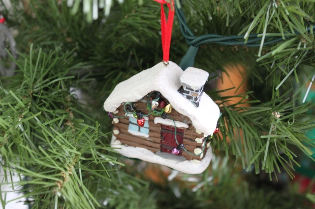 I purchased this ornament the Christmas after I purchased my first home, my condo. Perhaps like me ornament choice, I should have went with a single family home.